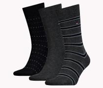 Socken im Dreierpack