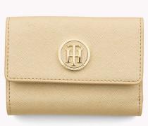 Mittelgroße Brieftasche mit Lasche