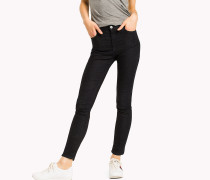 Skinny Fit Jeans mit hoher Leibhhe