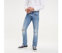 Denton Straight Fit Jeans im Used Look