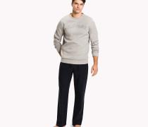 Pullover aus verstärktem Jersey