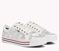 Funkelnder Sneaker mit Pailletten