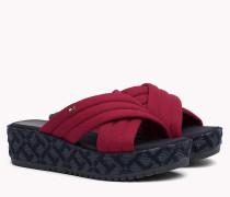 Softe Flatform-Sandale