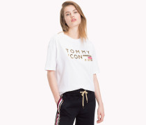Tommy Icons T-Shirt aus Bio-Baumwolle