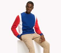 Pullover mit Blockfarben