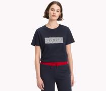 Athleisure T-Shirt mit Logo
