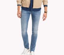 Super Slim Fit Jeans in Stonewash