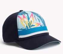 Cap mit tropischem Muster