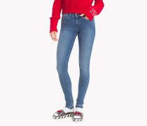 Skinny Fit Jeans mit Power-Stretch