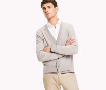 Luxuscardigan aus reiner Wolle