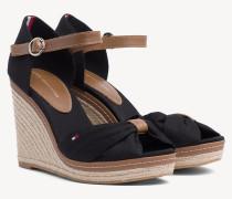 Iconic Espadrille-Sandale mit Keilabsatz