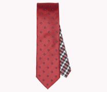 Krawatte aus Seide mit Blumenprint