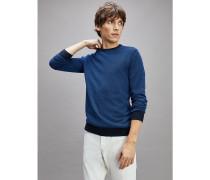 Jacquard-Pullover aus Wollmix