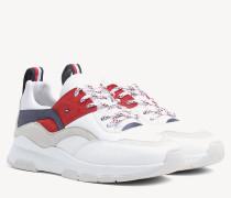 Ledersneaker in Blockfarben