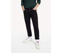 Straight Fit Denton Jeans mit Stretch