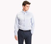 Figurbetontes Hemd mit Doppelmanschetten