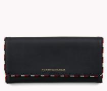 Klassische Klappbrieftasche aus Leder