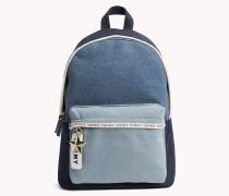 Mini-Rucksack aus Denim