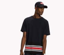 T-Shirt mit Tommy-Streifen