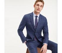 Karierter Regular Fit Anzug aus Schurwolle