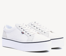 Strukturierter Low-Top Sneaker
