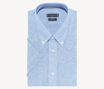Kurzärmliges Button-down-Hemd