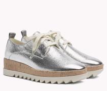 Metallic Platform Shoes