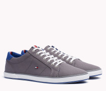 Lace-up-Sneaker aus Canvas