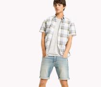 Kariertes Hemd aus Baumwollmix