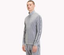 Trainingsjacke aus Velours