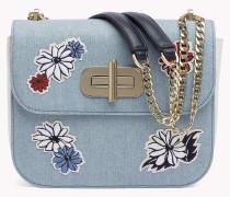 Crossbody-Tasche mit Blumenspitze