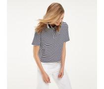 Poloshirt aus Recycling-Baumwollmix