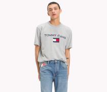 T-Shirt mit 90s Flag-Logo