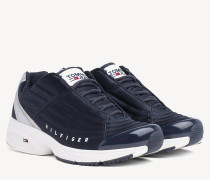 Heritage Sneaker mit gesteppten Einsätzen