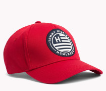 Baseball-Cap mit Logo-Badge