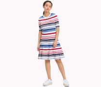 Schwingendes Kleid aus Rippstrick