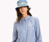 Hemd mit Streifen aus Tencel-Mix