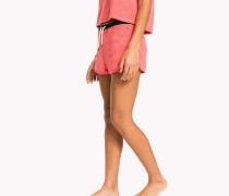 Lounge-Shorts aus Baumwoll-Frottee