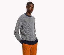 Pullover mit Längsstreifen