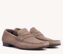 Classic Wildleder-Loafer