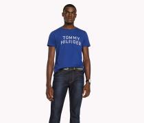 Regular Fit T-Shirt mit Initialen-Logo