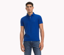 Slim Fit Poloshirt aus reiner Baumwolle