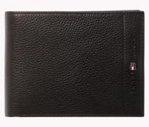Strukturierte Brieftasche aus Leder