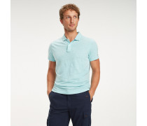 Slim Fit Poloshirt aus Baumwollmix