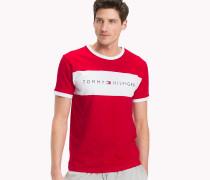 Lounge-T-Shirt aus Baumwolle