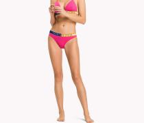 Bikinihose mit breitem Bund