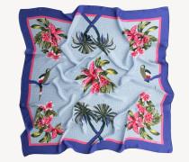 Viskose-Tuch mit Tropenprint