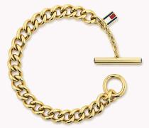 Vergoldetes Armband mit offenen Kettengliedern