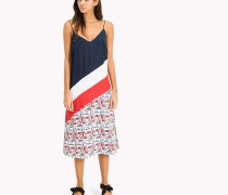 Midi-Kleid in Blockfarben