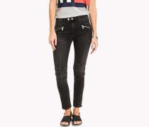 Skinny Fit Biker-Jeans